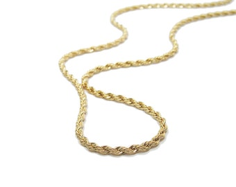 Gold vintage necklace. gift for wife, gift for her, romantic jewelry, vintage necklace, vintage jewelry.