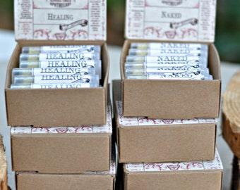 48 pack, Organic Lip Balm, Herbal Lip Balm, Homemade Lip Balm, Wholesale Apothecary, Handmade Lip Balm,  by The Natural Choice Apothecary
