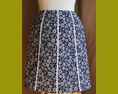Custom Made A-Line Skirt for Erin S -- Lined Cotton -- Custom Fabric -- Custom Design
