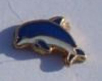 Dolphin HGC1430 Floating Charm for Memory Glass Locket