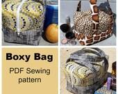 BOXY Bag - PDF Sewing  pattern