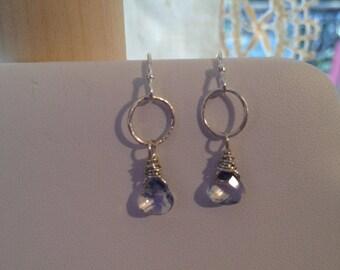 Blue Tears Earrings