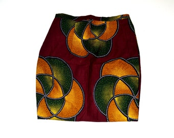 African Skirt, Pencil Skirt,  African Print Skirt, Ankara Pencil Skirt, Handmade pencil Skirt, Ankara Fabric Skirt By ZabbaDesigns