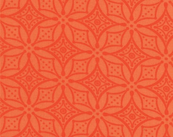 SALE High Street Lacey in Clementine by Lily Ashbury for Moda Fabric