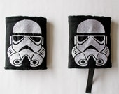 Star Wars Inspired Strom Trooper Drool Pads,  Carrier Strap Covers, Star Wars Baby Carrier, Geeky Baby