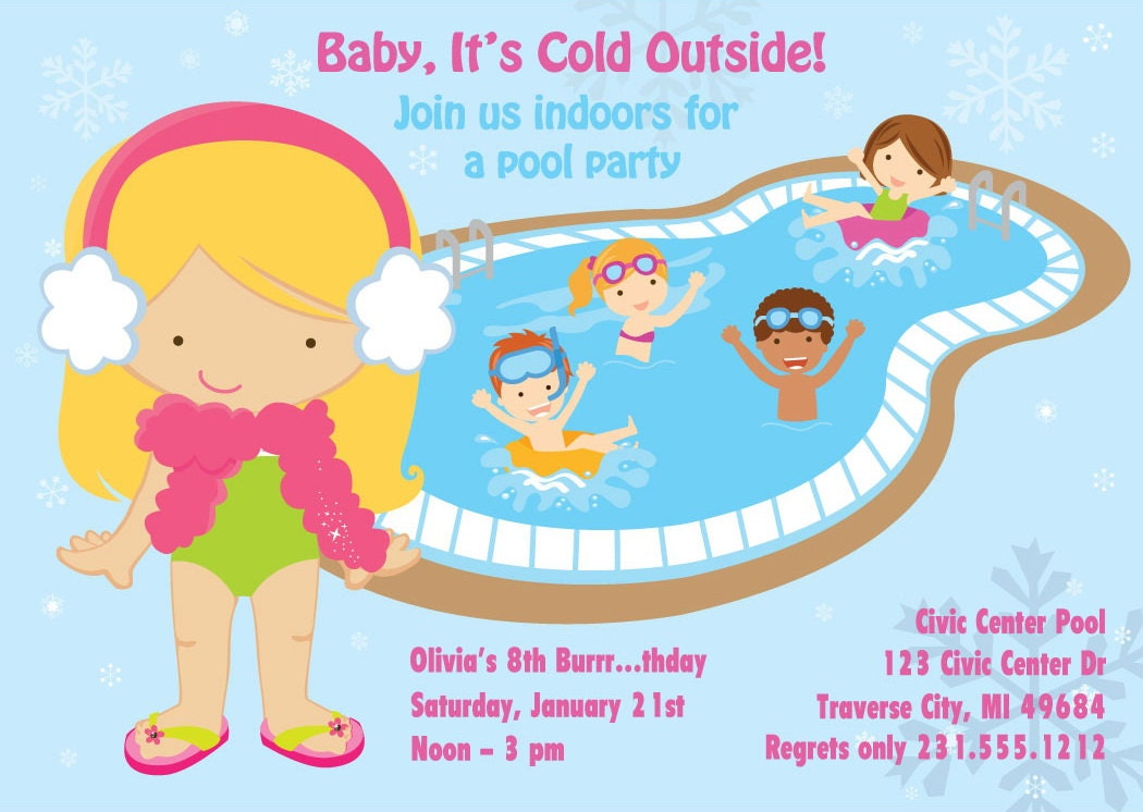 Graphics For Winter Pool Party Graphics | www.graphicsbuzz.com