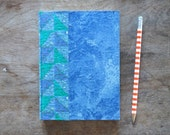 One-of-a-kind Handmade Retro Datebook with Triangles