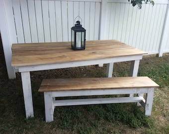 Popular items for table and benches on Etsy