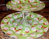 Christmas Serving Platter - BirdEECreations