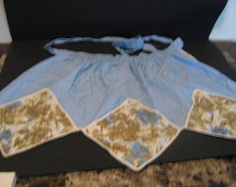 Vintage 1950s Cotton Apron