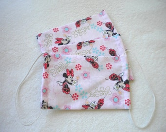 SALE Minnie mouse Face mask soft cotton fabric