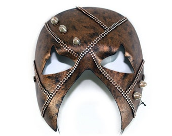 Rave Men's Steampunk Masquerade Mask -  A-2228-E