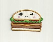Happy Burger Patch! Custom Made!