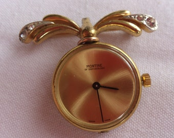 Vintage Montine suspended watch