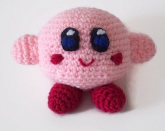 Crochet Patterns Amigurumi Monkey : Kirby crochet amigurumi