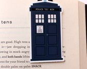 Police Box Magnetic Bookmark