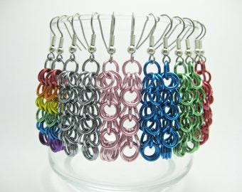 Shaggy Loops Chain Earrings