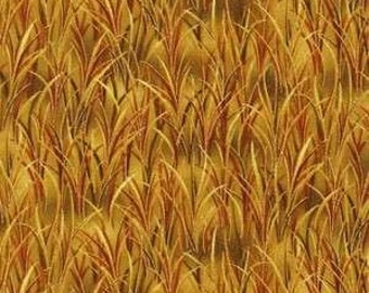 Golden harvest metallic grass