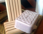 Wooden Soap Drying Block