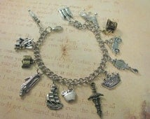 ULTiMATE CUSTOM FAiRY TALE Charm Bracelet - You Choose Your Charms - Inspired - Not A Licensed Product