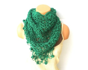 Super Soft Crochet Shawl, Crochet Women's Scarf