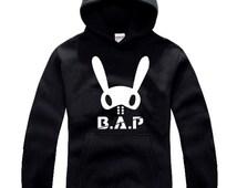 Kpop b.a.p  3 color Print Hoody Hoodie Hooded Sweatshirt Unisex Size (Dh9)
