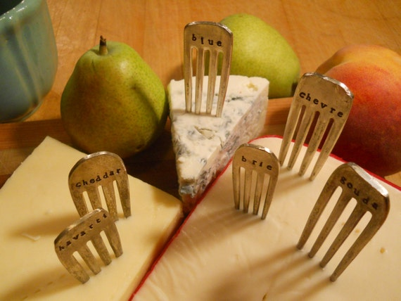 how to make cheese markers