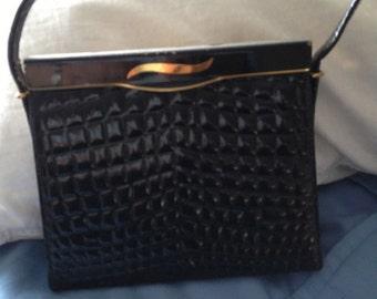 Vintage Block Handbag