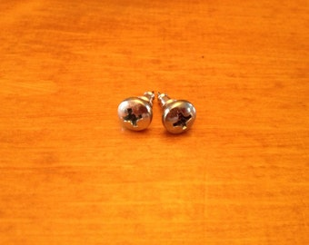 Screw Head Earrings