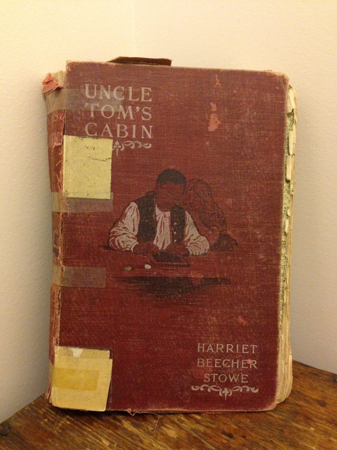 Rare 1897 edition uncle tom 39 s cabin for Tom s cabin