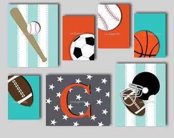 Sports Wall Art sports art | etsy