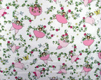 Believe fabric from Blend, Pink fairies