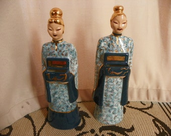 Signed Hedi Schoop Oriental Figurines