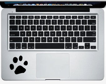 Puppy Paw frontal macbook decal