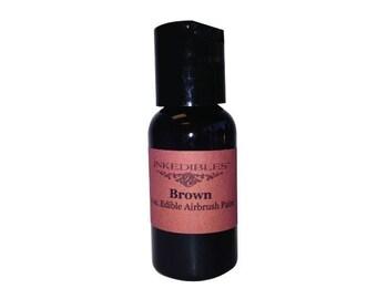 60ml Inkedibles Airbrush Ink (Chocolate Brown)