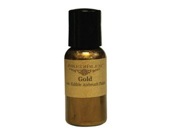 30ml Inkedibles Airbrush Ink (Gold)