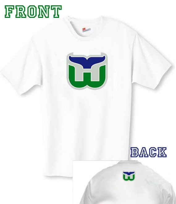 Hartford whalers old school hockey t shirt for T shirt printing hartford ct