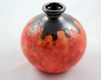 Ceramic Round Bud Vase
