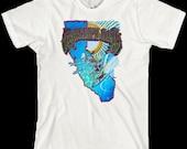 Grateful Dead T Shirt ...Surfing California...  Jerry Garcia