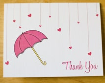 15 Wedding Shower Thank You Cards With Envelopes