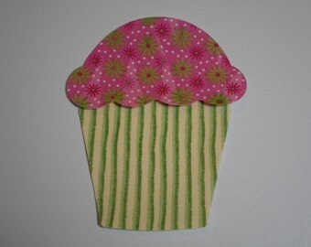 Cupcake Appliques
