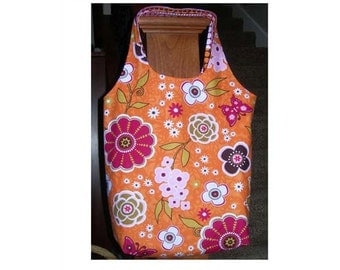 SEWING PATTERN - Flower Sac Pattern - By Nellie's Needle for Riley Blake Designs