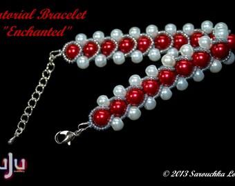 "Tutorial for Bracelet ""Enchanted"""
