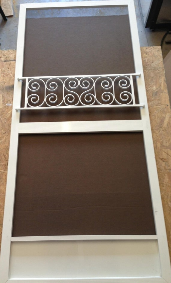 Push Bar For Screen Door Vintage Inspired By Screendoorgrilles