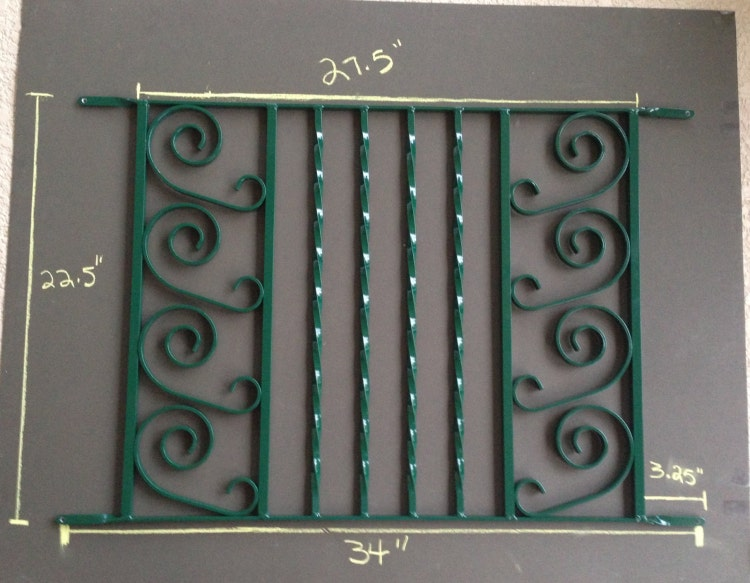 Screen Door Grille Protective Aluminum By Screendoorgrilles