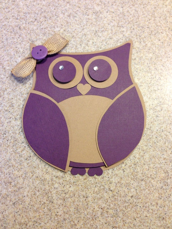 Custom owl shaped invitation baby shower by for Etsy owl wedding invitations