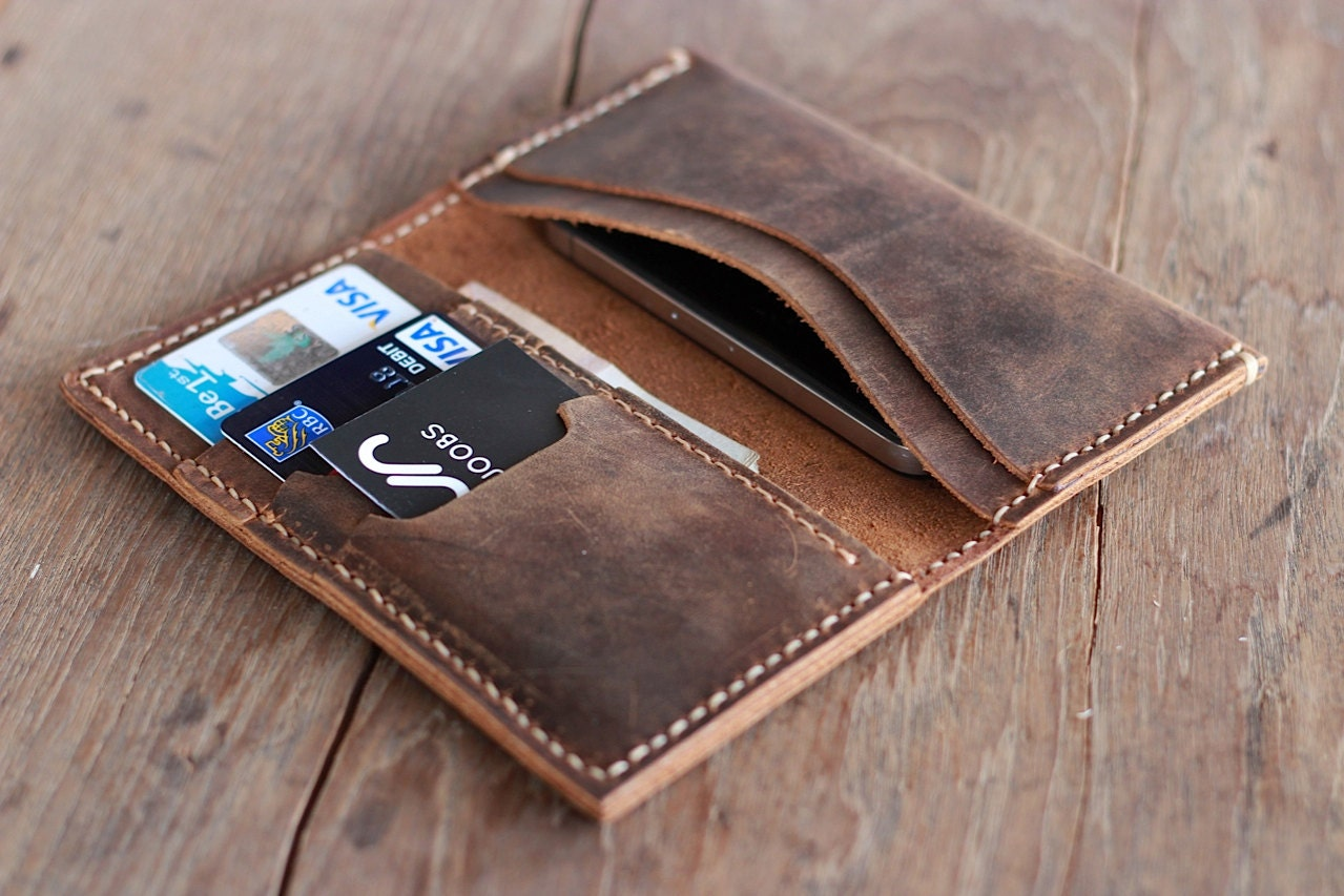 The Envelope Wallet Leather Wallet Case Joojoobs By Joojoobs