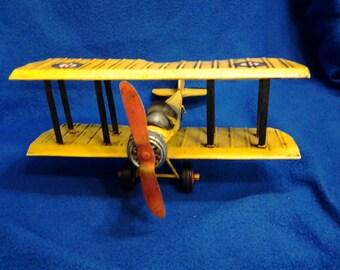 Vintage Barn Storming Model Plane