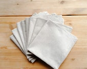 Vintage linen napkins - set of 8  - great condition