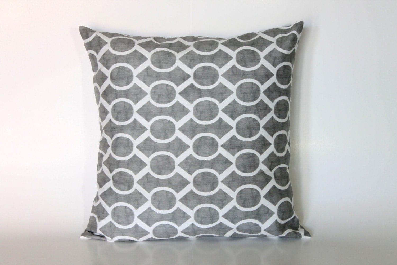 Throw Pillows For Grey Sofa : Throw Pillows Sofa Grey 18x18 Accent Pillow Cover 18x18